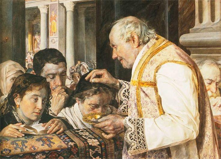 Julian Fałat - Popielec, 1881