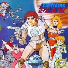 Capitaine Flam - années 80