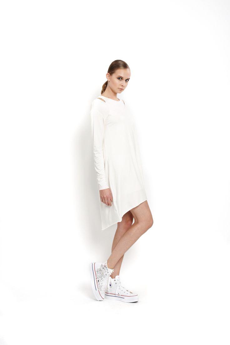 jersey dress twins, design Lucie Kutálková/ LEEDA