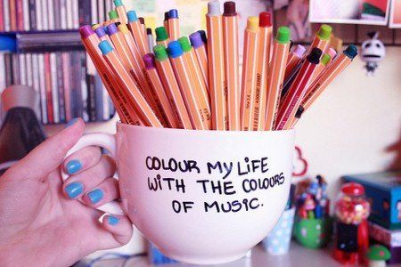 colorful pen :))) ...!