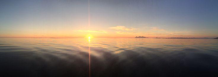 Flott på havet ikveld...