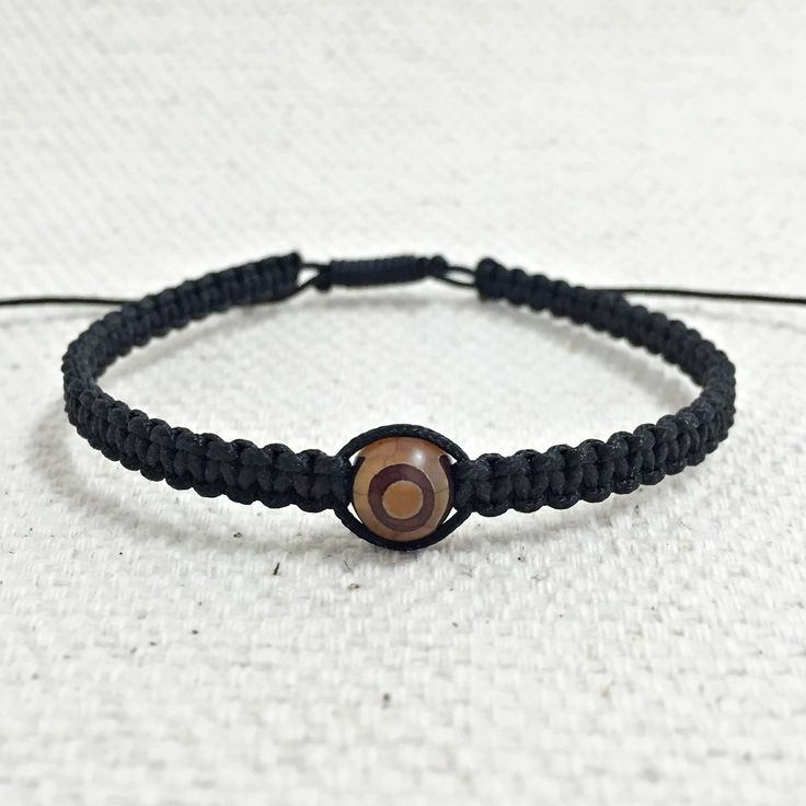 Pulseira masculina shambala pedra agata Dzi mens bracelets fashion moda homem shamballa macrame pulseiras masculinas
