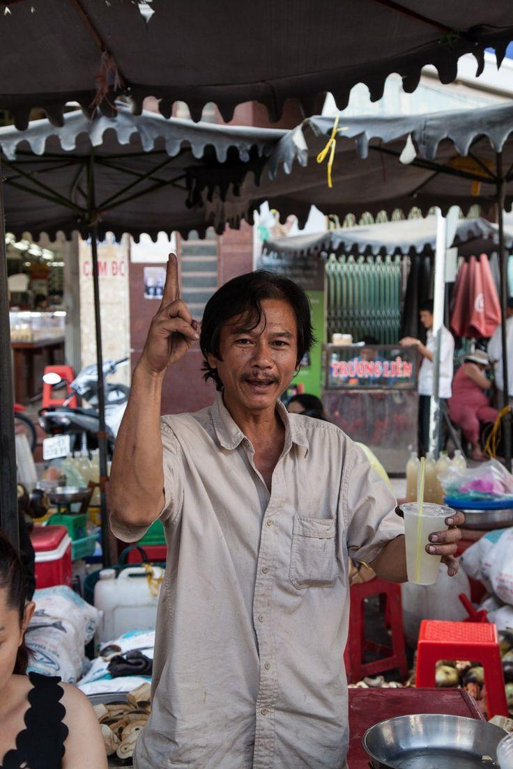 the Chau Doc Market