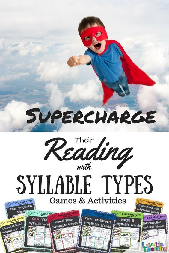 Get everything you need to teach syllable types in this money saving bundle! Teach closed syllables, open syllables, vc/v syllables, open or closed syllables (identify those pesky rule breakers), magic e syllables, vowel team syllables, r-controlled syllables, and consonant le syllables with 366 pages of games and no prep activities. Great for RTI, whole class, tutoring, homework, guided reading, and centers!