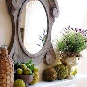 Farmhouse Mantle Mirror
