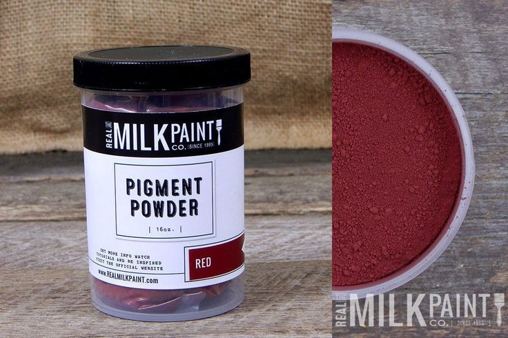 Real Milk Paint Co. Pigment Powder - Red (16 oz.)