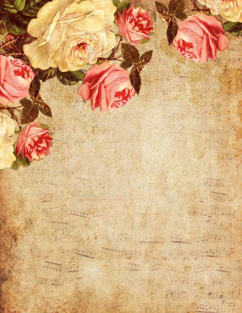 Lilac & Lavender: Roses on music sheet