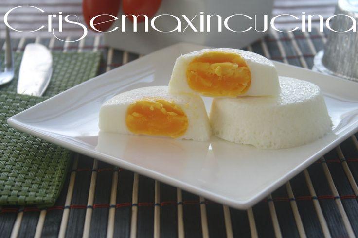 la uova al vapore un secondo piatto completo e con una cottura senza grassi.