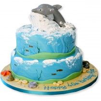 dolphin wedding cake ideas 27 best dolphin cakes images on 13698