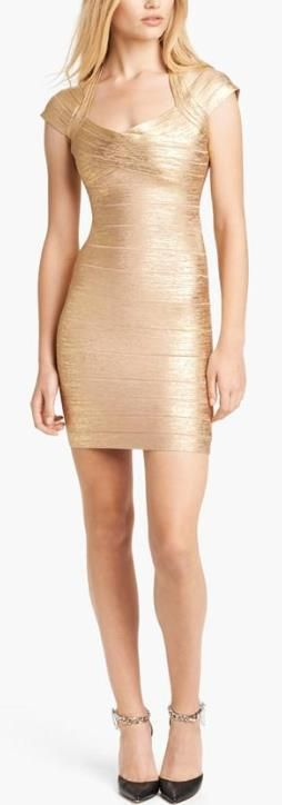 Wrap it up  with a Bandage Dress