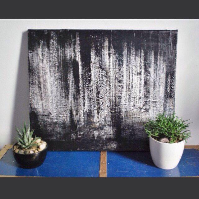Spell II - oeuvre originale // peinture acrylique // Acrylic painting // noir et blanc // Black and white par DJUMTL sur Etsy https://www.etsy.com/fr/listing/467408671/spell-ii-oeuvre-originale-peinture  #acrylic #abstract #abstractpainting #art #contemporain