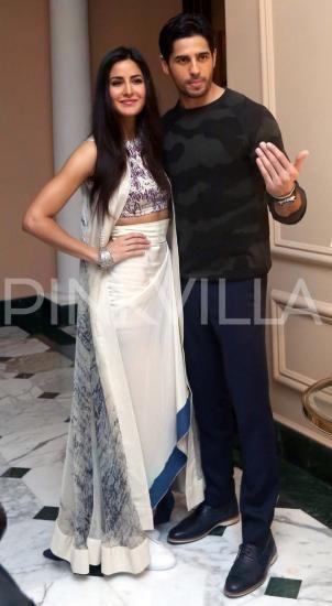 Katrina and Sidharth return to Mumbai post their Kolkata presscon