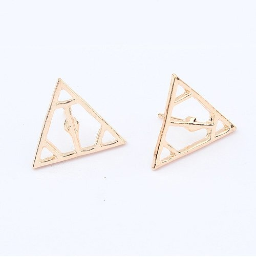 (Min order$10)Free shipping!Europe and the United States exaggerated fresh all-match triangle Fashion Earrings!#92607 on AliExpress.com. $0.88