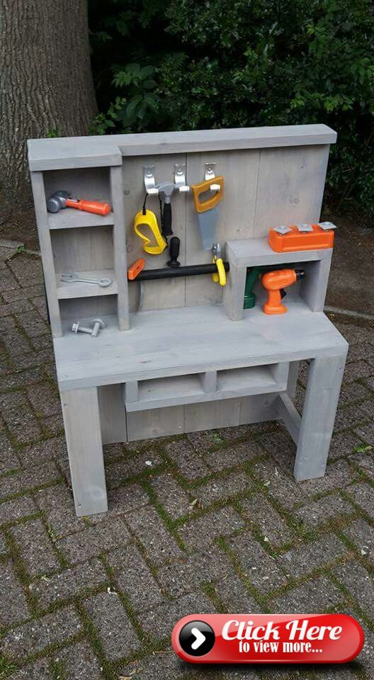 Workbench for children to build themselves l Great Gift …
