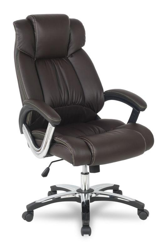 Кресло College H-8766L-1 спинка коричневая / сиденье коричневое, благодаря настоящему мастерству конструкторов и дизайнеров, очень удачно совмещает в себе и помощника в работе и место для отдыха. Кроме того, данная модель обладает прекрасными представительскими характеристиками, в самом выгодном свете представляя своего хозяина, даже когда он отсутствует на месте.