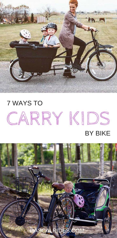 7 Best Child Carriers For Bikes Bike Kids Bike Commuter Bike