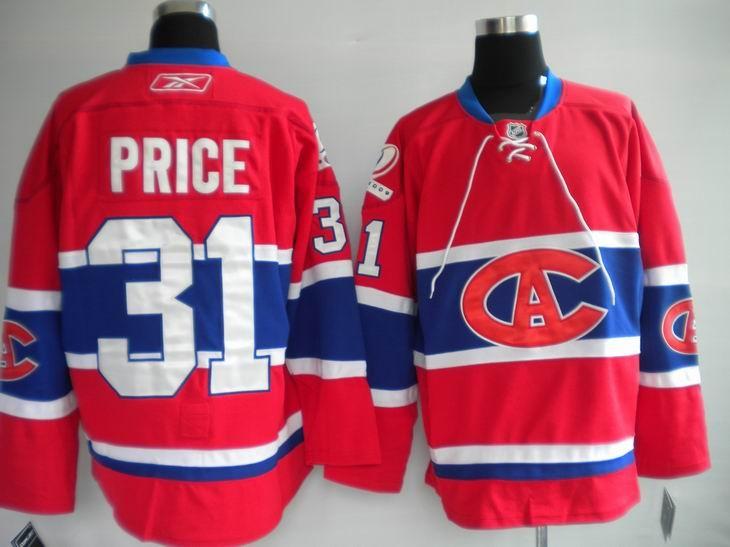 ... NHL Jerseys Montreal Canadiens Carey Price 31 Stripe Red httpdigjersey. ba6108cda