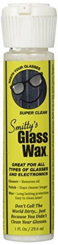 """#wow It's as easy as """"Wax-On...Wax-Off"""" Smitty's #Glass Wax will give you amazingly clean and perfectly clear glasses. Wouldn't it be nice to have that """"Like New..."""