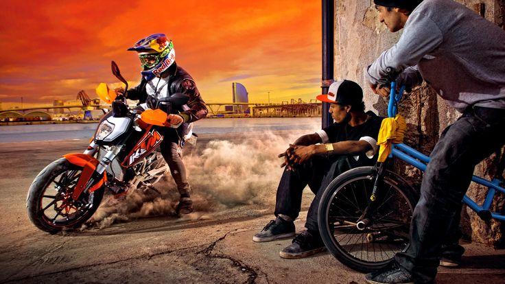 KTM Duke Motorcycle Freestyle