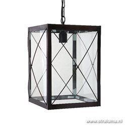 Lantaarn hanglamp landelijk zwart gang