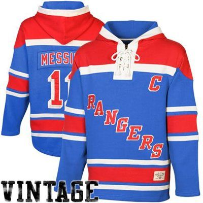 da52b8edd7a ... Jersey Mens New York Rangers Henrik Lundqvist Old Time Hockey Royal  BlueRed Sawyer Hoodie ...