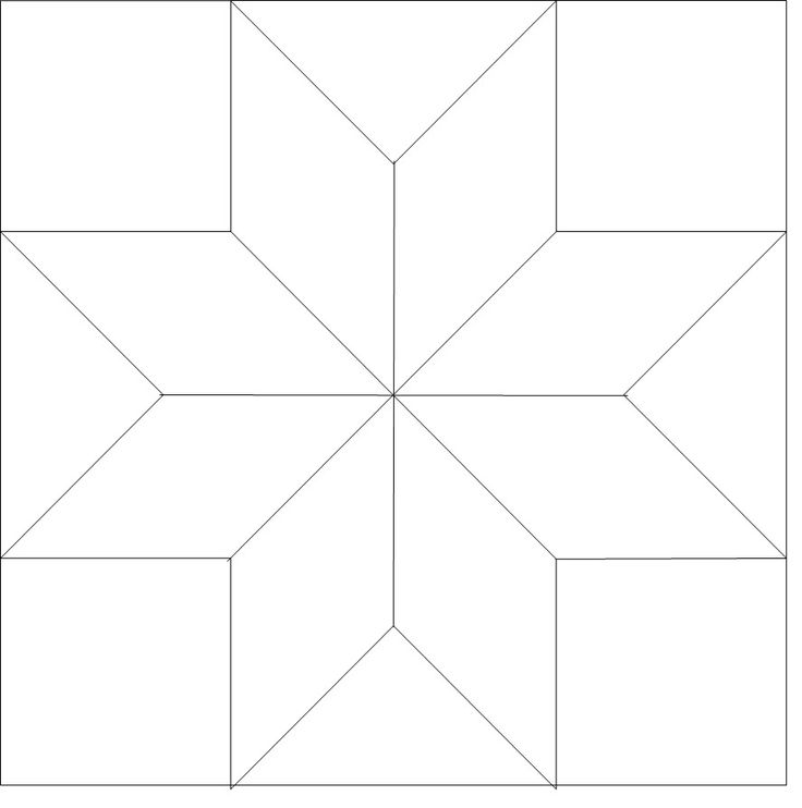 Free Quilt Pattern For 8 Point Star : 17 Best images about 8 pointed star on Pinterest Exploring, Quilt and Baby girl quilts
