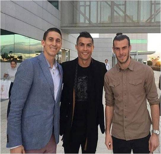 Jaycee Carroll, Cris and Bale!!❤