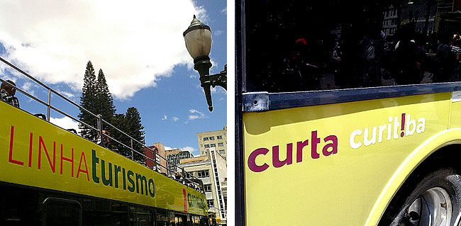 Linha Turismo Curitiba Onibus Doble Deck