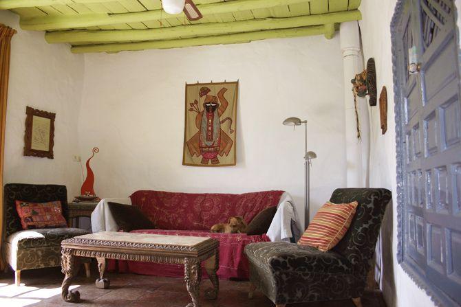 Casa Verde upstairs sitting room