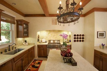 Architecture and Interior Design mediterranean kitchen