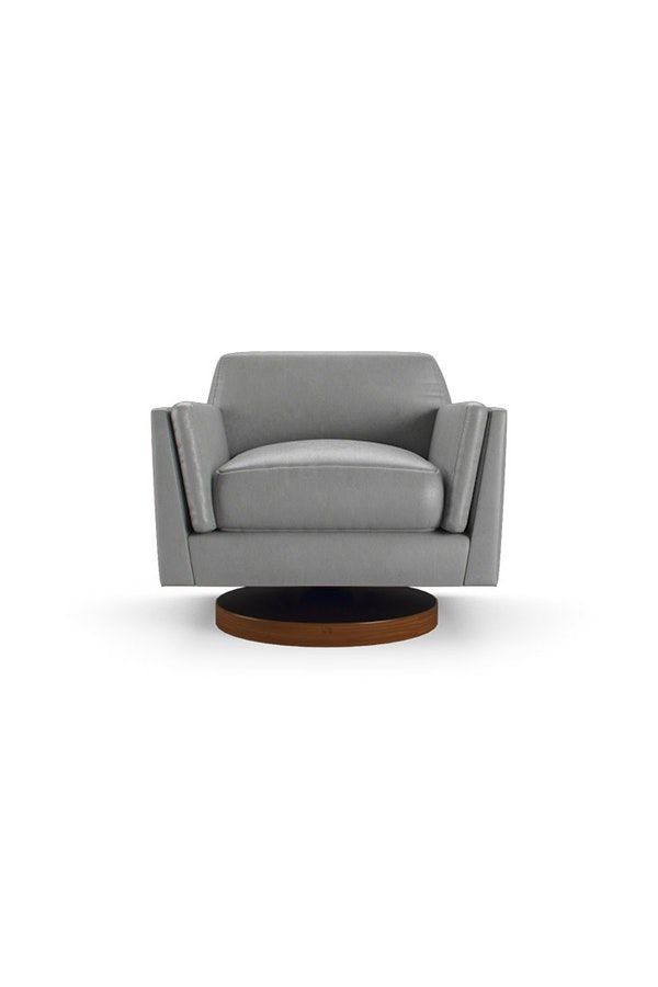 Woodson Leather Swivel Chair