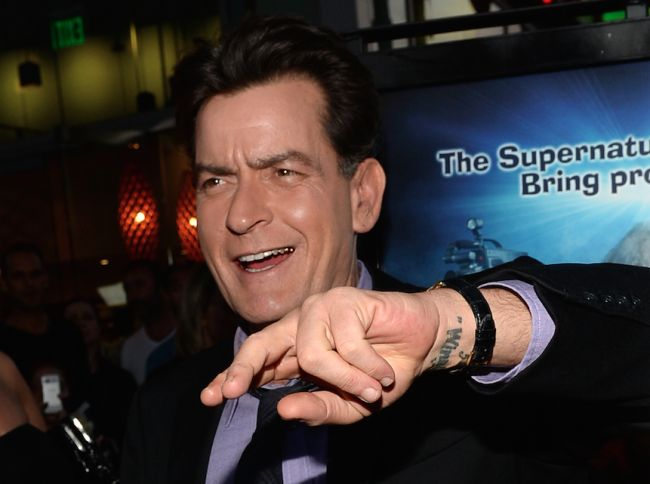 Charlie Sheen Just Ruined The Ice Bucket Challenge For Everyone
