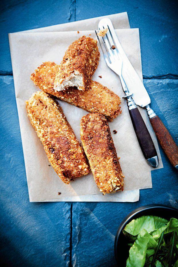 Przepisy Agnieszki Kręglickiej na zapiekaną rybę, krokiety kartoflane z bryndzą i chrupiące szprotki