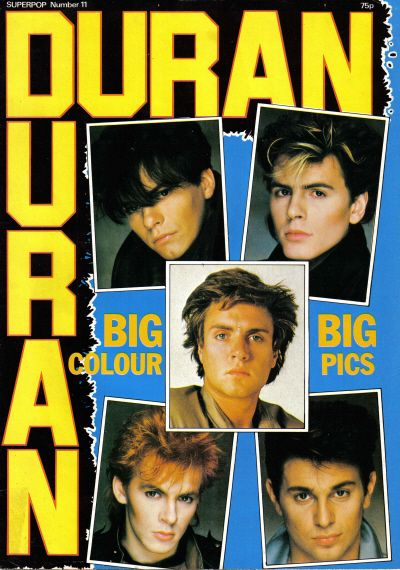 Duran Duran....my favorite 80's band! :)
