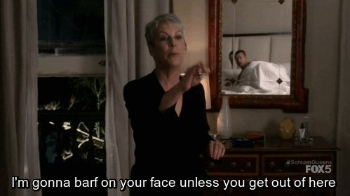 39 Iconic Scream Queens Quotes You Can Use in Real Life When You Close at 9:00 P.M. and a Customer Enters at 8:58