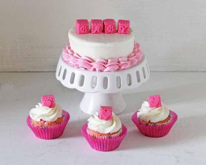 Wholeport Giveaway: Alphabet Blocks Chocolate Mold • CakeJournal.com: Blocks Cakes, Alphabet Blocks, Cakes And Cupcakes, Cakes Decoration, Baby Blocks, Alyssa Baby, Birthday Celebrity Cakes, Birthday Cakes, Baby Showers
