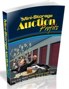 how do I find storage unit auctions