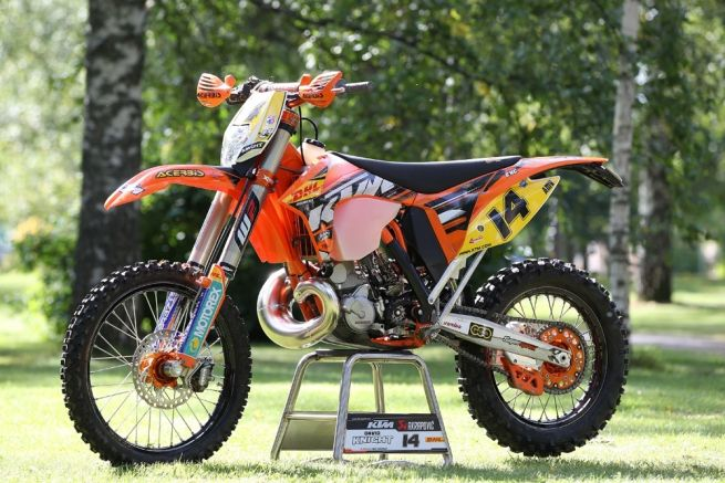 My Ride – David Knight, KTM 300 EXC