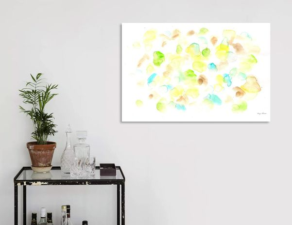Discover «170725 Abstract Watercolour 14», Limited Edition Acrylic Glass Print by valourine - From $99 - Curioos