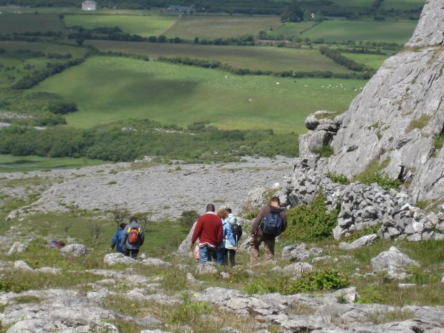 Guided walk in the Burren  Cliffs of Moher Geopark