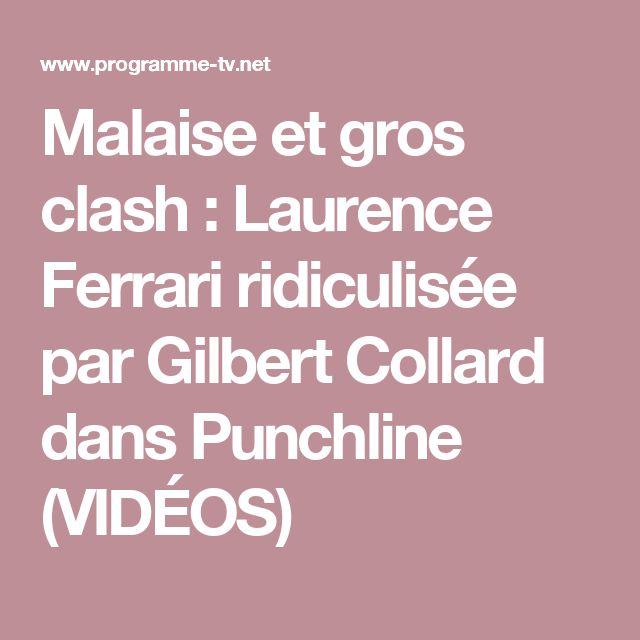 Malaise et gros clash : Laurence Ferrari ridiculisée par Gilbert Collard dans Punchline (VIDÉOS)