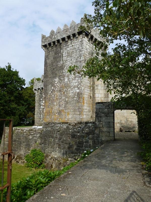 Castillo de Vimianzo, Vimianzo, A Coruña, Spain