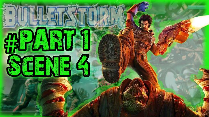 Bulletstorm Limited Edition Pc | Part 1| Kill The Boss Before Escape | Scene 4