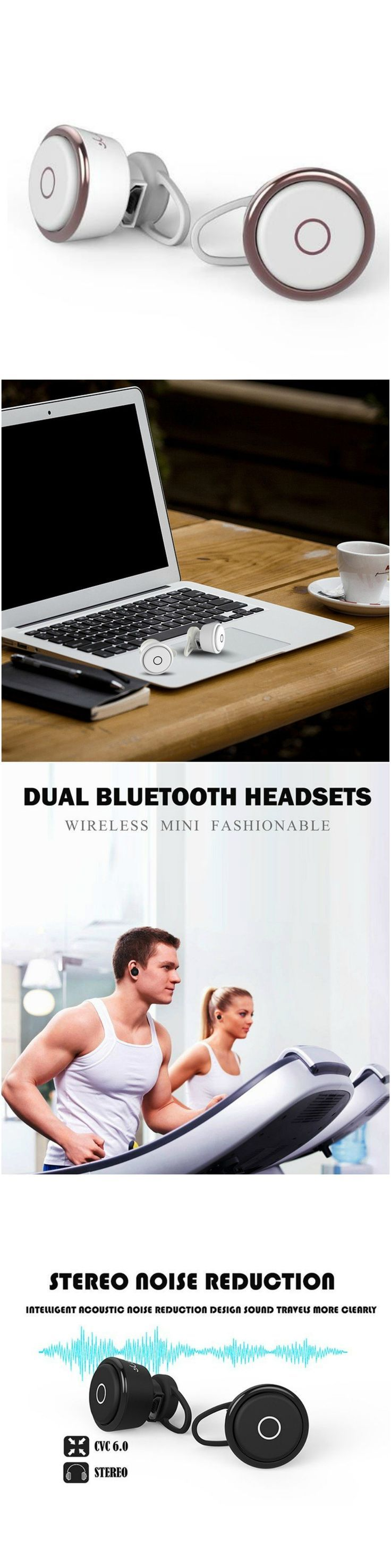 Bluetooth Wireless Noise Cancelling Headphones. Great for workout, gym and running without tangles!  Great gift for android and iPhone users Great for workout, gym and running without tangles! Fits well into workout and gym clothes. Great gift products for android Samsung Galaxy, LG, Sony and Apple iPhone 7 users, men and women and those who are active in health and fitness and travel. Take music anywhere, packs easily in purses, luggages, backpacks and travel bags. #Technology #gizmo #cool
