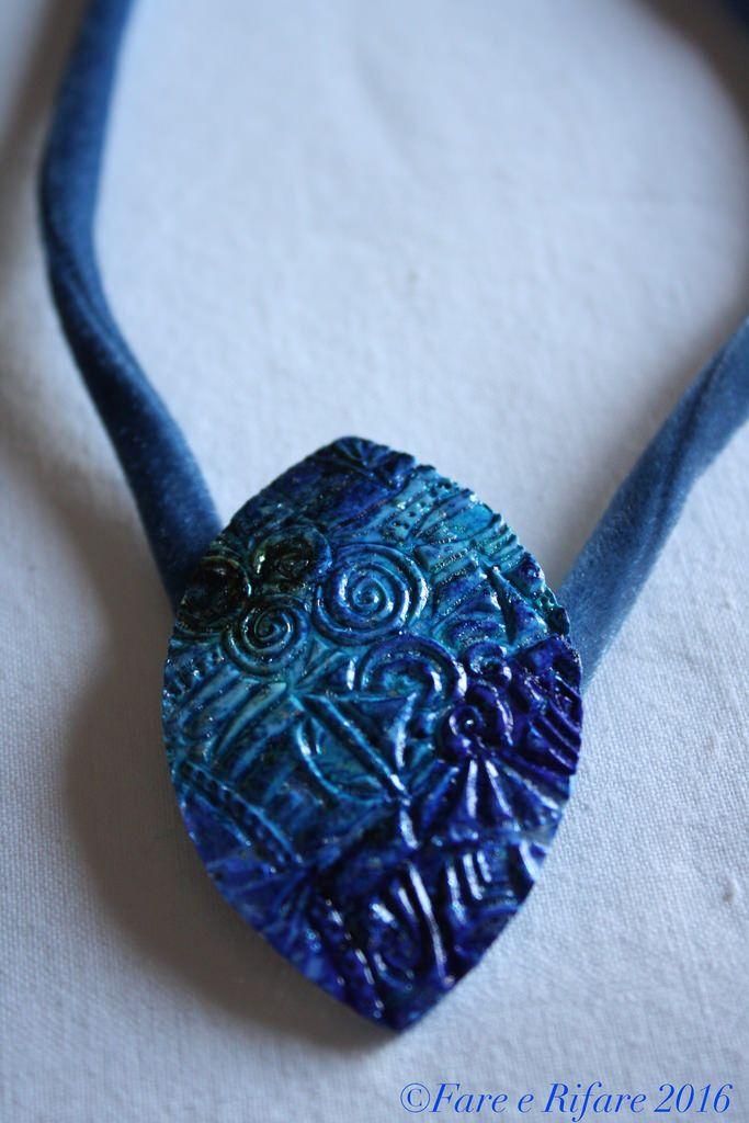 Polymer clay pendant https://www.facebook.com/Farerifare.effeti