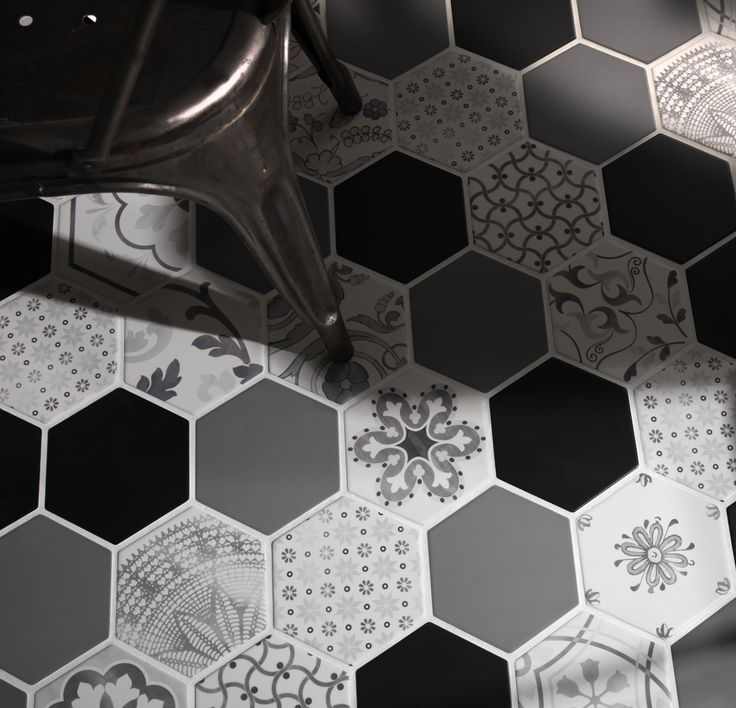 Examatt Decoro Examix Tiles Piastrelle Walltiles Floortiles Backsplash Pavimento Rivestimento Ceramiche Esagona Hexagon Design Homedesign Arredamento Interiordesign Decor Bathroom Kitchen Bagno Cucina Azulejos Carreaux
