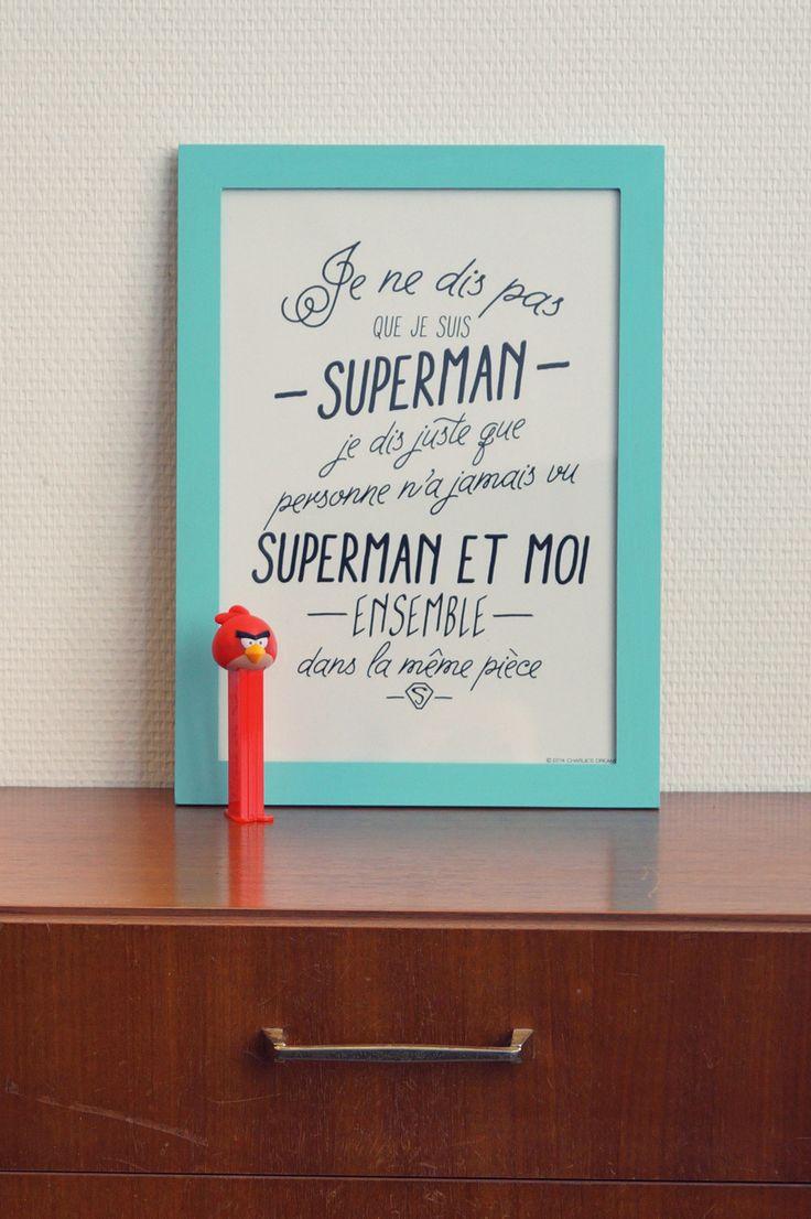 Affiche Super Héros | Les mini tornades