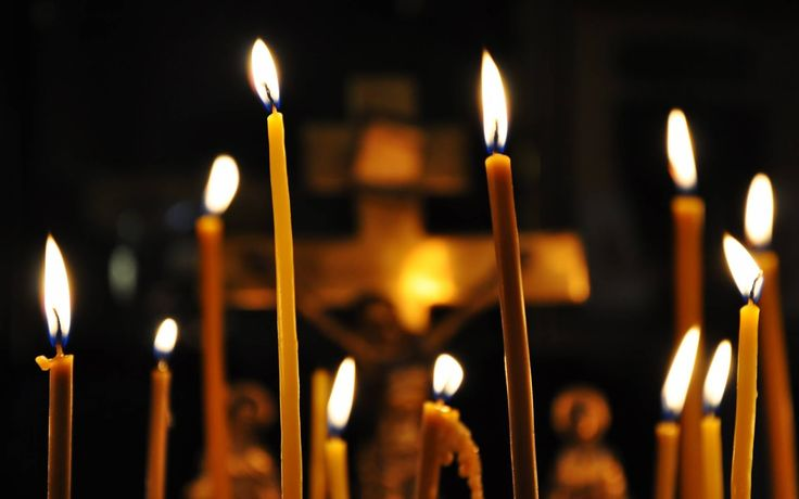 Lit candles and Icon lamps (lampadas) have a special symbolic meaning in the Christian Church, and no Christian service can be held wi...