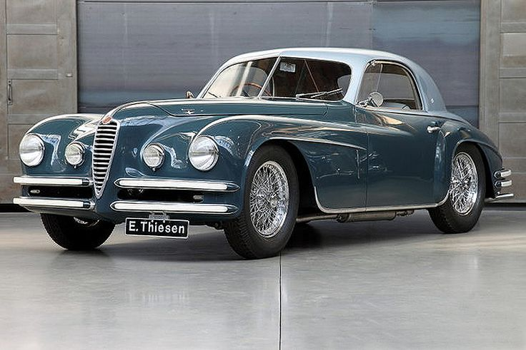 Alfa Romeo 6C 2500 SS Super Sport Berlinetta Touring Superleggera (1948)
