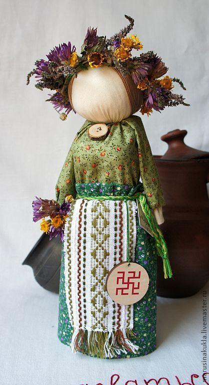 """Народные куклы ручной работы. Ярмарка Мастеров - ручная работа Кукла - оберег """"Одолень трава"""".Продана.. Handmade."""